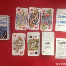 Barajas de cartas: TAROT DE PINO ZAC DE L'AN 2.000 EN FRANCES 78 CARTAS 1981. Lote 93600480