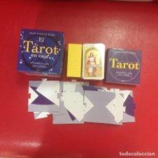 Barajas de cartas: EL TAROT EN CAJA JULIET SHARMAN-BURKE PARA APRENDER A LEER LAS CARTAS. Lote 93779200