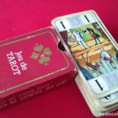 Barajas de cartas: ANTIGUA BARAJA DE TAROT. Lote 100637199