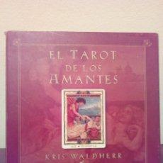 Barajas de cartas: RDP BARAJA EL TAROT DE LOS AMANTES KRIS WALDHER GAIA EDIDIONES 78 CARTAS. Lote 102479511