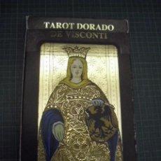 Barajas de cartas: TAROT DORADO DE VISCONTI. Lote 102771567