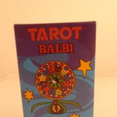 Barajas de cartas: BARAJA DE CARTAS TAROT DOMENICO BALBI HERACLIO FOURNIER PRECINTADA. Lote 103518459