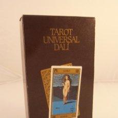 Barajas de cartas: BARAJA DE CARTAS TAROT UNIVERSAL DALI NAIPES COMAS PRECINTADA MADE IN SPAIN AÑOS 80. Lote 103518943