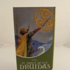 Barajas de cartas: BARAJA DE CARTAS EL TAROT DE LOS DRUIDAS, PIERRE RIPERT, DE VECCHI, LIBRO Y CARTAS. Lote 103519775