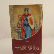 Barajas de cartas: BARAJA DE CARTAS EL TAROT DE LOS TEMPLARIOS, S. MAYORCA, DE VECCHI, LIBRO Y CARTAS. Lote 103519907