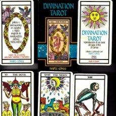 Barajas de cartas: TAROT DIVINATION. Lote 103764571