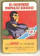 NAIPE BARAJA CARTAS LOS MINIS *EL HOMBRE ENMASCARADO*AÑO 1978 FOURNIER* (Juguetes y Juegos - Cartas y Naipes - Barajas Infantiles)
