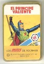 NAIPE BARAJA CARTAS LOS MINIS *EL PRINCIPE VALIENTE*AÑO 1978 FOURNIER* (Juguetes y Juegos - Cartas y Naipes - Barajas Infantiles)