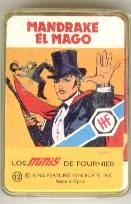 NAIPE BARAJA CARTAS LOS MINIS *MANDRAKE EL MAGO*AÑO 1978 FOURNIER* (Juguetes y Juegos - Cartas y Naipes - Barajas Infantiles)