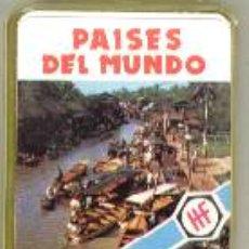 Baralhos de cartas: NAIPE BARAJA CARTAS LOS MINIS * PAISES DEL MUNDO *AÑO 1978 FOURNIER A ESTRENAR*. Lote 195963370