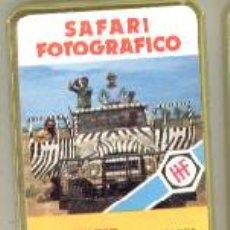 Baralhos de cartas: NAIPE BARAJA CARTAS LOS MINIS *SAFARI FOTOGRAFICO*AÑO 1978 FOURNIER A ESTRENAR*. Lote 40917361