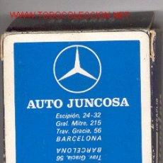 Barajas de cartas: AUTO JUNCOSA (BARCELONA) - BARAJA BRIDGE POKER (54 CARTAS). Lote 25592778