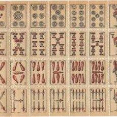 Barajas de cartas: ANTIGUO JUEGO DE CARTAS EN MINIATURA. Lote 22805813