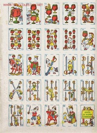 MINI BARAJA INFANTIL COMPLETA JUEGO DE CARTAS ESPAÑOLAS (Juguetes y Juegos - Cartas y Naipes - Baraja Española)