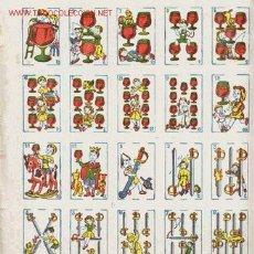 Barajas de cartas: MINI BARAJA INFANTIL COMPLETA JUEGO DE CARTAS ESPAÑOLAS. Lote 133014030