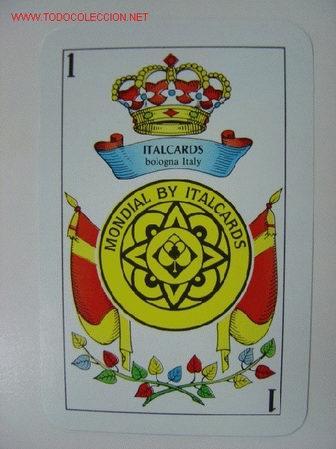BARAJA ITALIANA BOLOGNA, ITALIA DE CERVEZA AGUILA - AÑO 1992 - NUEVA A ESTRENAR, PRECINTADA (Juguetes y Juegos - Cartas y Naipes - Otras Barajas)