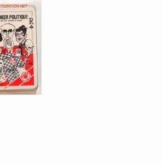Barajas de cartas: BARAJA LE POKER POLITIQUE (64). Lote 26799896
