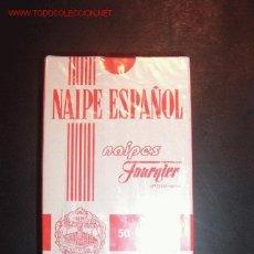 Barajas de cartas: NAIPE ESPAÑOL,HERACLIO FOURNIER,PUBLICIDAD WINSTON,50 CARTAS. Lote 1141531
