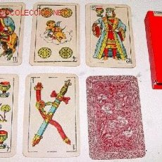 Barajas de cartas: ANTIGUA BARAJA NAIPES OPACOS COMAS BARCELONA - 48 CARTAS (12). Lote 26305623