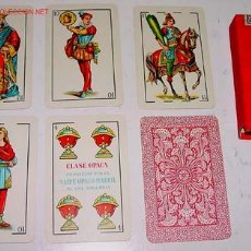 Barajas de cartas: ANTIGUA BARAJA Nº 12 NAIPE OPACO MARFIL - HERACLIO FOURNIER - 40 CARTAS (8). Lote 13426826