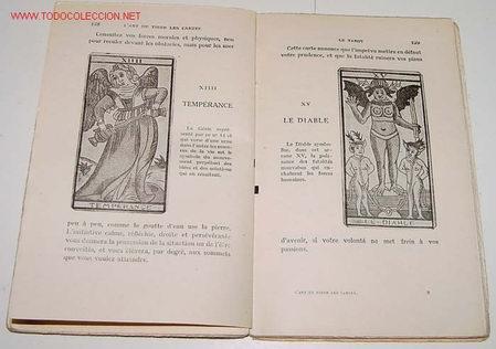 L´ART DE TIRER LES CARTES - POR J. MERY - TAROT - 1940 . LIBRAIRIE GARNIER FRERES - PARIS . 228 PAGI (Juguetes y Juegos - Cartas y Naipes - Barajas Tarot)