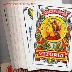 Barajas de cartas: BARAJA GIGANTE FOURNIER 40 NAIPES, TAMAÑO GIGANTE , BARAJA ESPAÑOLA EL TRUC. Lote 62577490