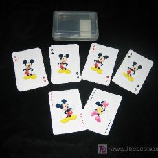 Barajas de cartas: BARAJA MICKEY MOUSE DISNEY. Lote 3329366