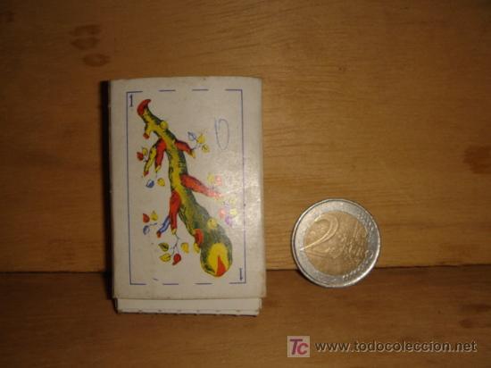 BARAJA DE CARTAS ESPAÑOLAS PEQUEÑAS (Juguetes y Juegos - Cartas y Naipes - Baraja Española)