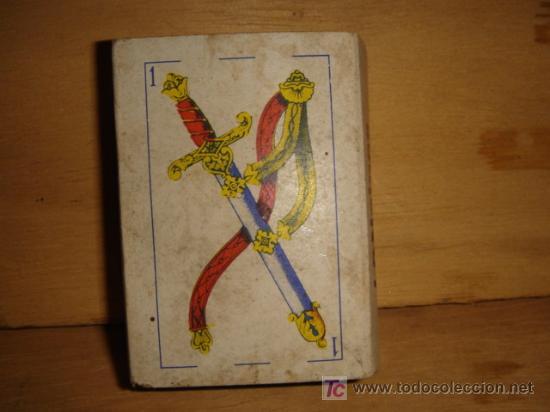 Barajas de cartas: BARAJA DE CARTAS ESPAÑOLAS PEQUEÑAS - Foto 2 - 27354214