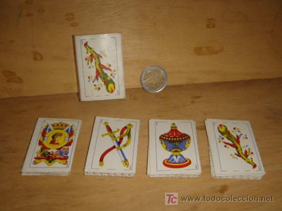 Barajas de cartas: BARAJA DE CARTAS ESPAÑOLAS PEQUEÑAS - Foto 3 - 27354214