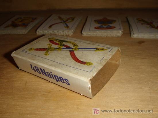Barajas de cartas: BARAJA DE CARTAS ESPAÑOLAS PEQUEÑAS - Foto 4 - 27354214