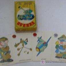 Barajas de cartas: CARTAS EL JUEGO DE LA GUERRA. Lote 109013127