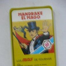 Barajas de cartas: CARTAS MINIS FOURNIER.MANDRAKE EL MAGO. Lote 3878853