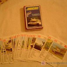 Barajas de cartas: BARAJA INFANTIL MINICART TANQUES NAIPES COMAS. Lote 11535257