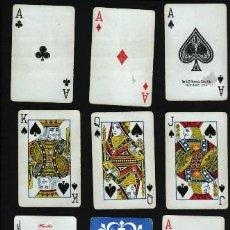 Barajas de cartas: 54 CARTAS THE U.S. PLAYING CARD CO. CICINATI USA – PLASTIC COATED. Lote 21589251