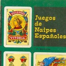Barajas de cartas: JUEGOS DE NAIPES ESPAÑOLES - DE HERACLIO FOURNIER. Lote 26168961