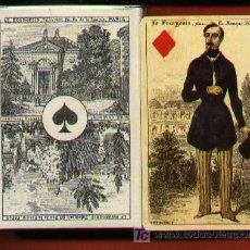 Barajas de cartas: BARAJA IMPERIAL, FRANCIA, SIGLO XIX (1860) . Lote 20874814