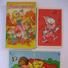 Barajas de cartas: BARAJA CARTAS. JUEGO DE PAREJAS: BLANCANEUS. NAIPES COMAS. (EN CATALAN). Lote 43922237