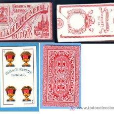 Barajas de cartas: BARAJA ESPAÑOLA HIJA DE B. FOURNIER FABRICA DE BURGOS, AÑOS 40 Ó 50. Lote 19837004