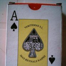 Barajas de cartas: BARAJA DE CARTAS. 55 CARTAS. BARAJA PÓKER. VARITEMAS SL. PRECINTADA. NUEVA . Lote 4557828