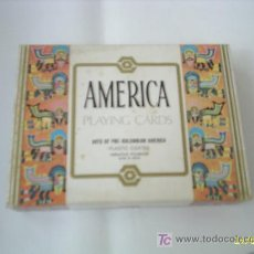 Barajas de cartas: BARAJA AMERICA PLAYING CARDS. Lote 24090105