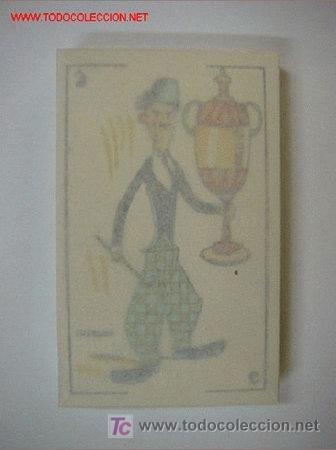 Barajas de cartas: PRECIOSA BARAJA COMICO ARTISTICA DEPORTIVA, años 1930, El reverso es Cine Manual DEL GATO FELIZ - Foto 2 - 209658851