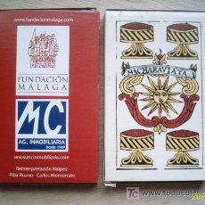Barajas de cartas: BARAJA ESPAÑOLA. FUNDACIÓN MÁLAGA. RECREACIÓN DE LA BARAJA DE 1787 MACHARAVIAYA. Lote 207021698