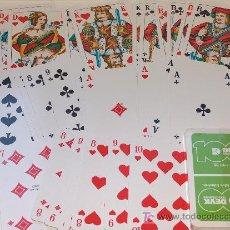 Barajas de cartas: BARAJA DE NAIPES DE POKER CON PUBLICIDAD . Lote 5527298