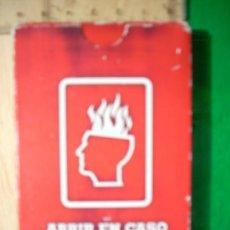 Jeux de cartes: BARAJA ESPAÑOLA. FOURNIER. BIENVENIDA A LA UNIVERSIDAD. 54 CARTAS . Lote 5907176