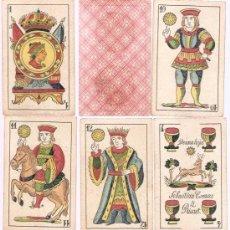 Barajas de cartas: BARAJA DE CARTAS SEBASTIAN COMAS Y RICART . Lote 5924936