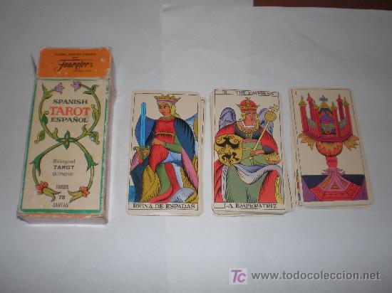 CARTAS DE TAROT FABRICADA EN ESPAÑA POR FOURNIER AÑO 1978 (Juguetes y Juegos - Cartas y Naipes - Barajas Tarot)