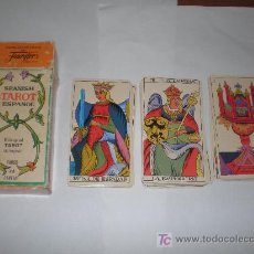 Barajas de cartas: CARTAS DE TAROT FABRICADA EN ESPAÑA POR FOURNIER AÑO 1978. Lote 22530052