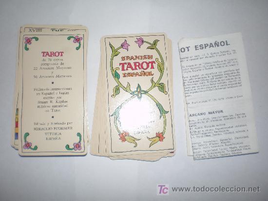 Barajas de cartas: CARTAS DE TAROT FABRICADA EN ESPAÑA POR FOURNIER AÑO 1978 - Foto 3 - 22530052