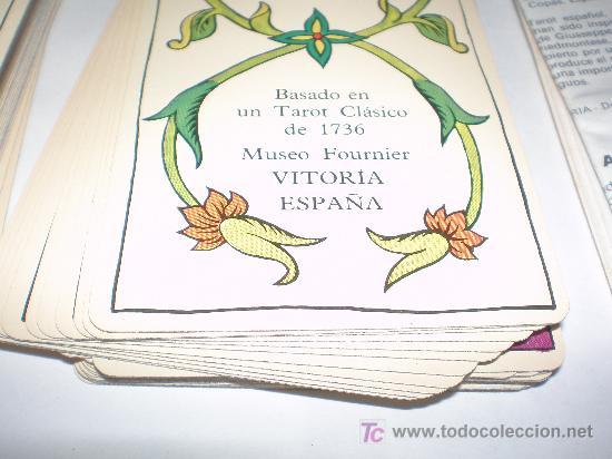 Barajas de cartas: CARTAS DE TAROT FABRICADA EN ESPAÑA POR FOURNIER AÑO 1978 - Foto 4 - 22530052